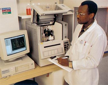 CIEによるイオン測定試験