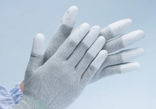 静電気対策ESDIIパーム/トップ・コート手袋